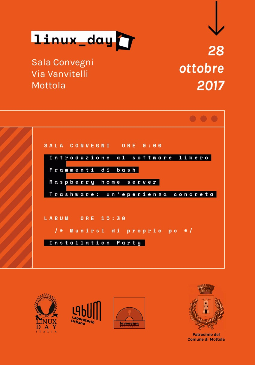 Linux Day Mottola 2017