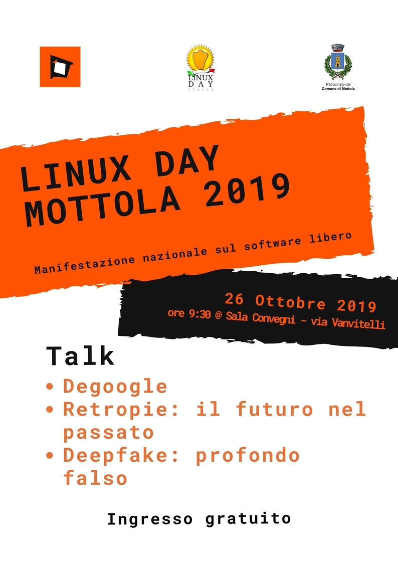 Linux day Mottola 2019